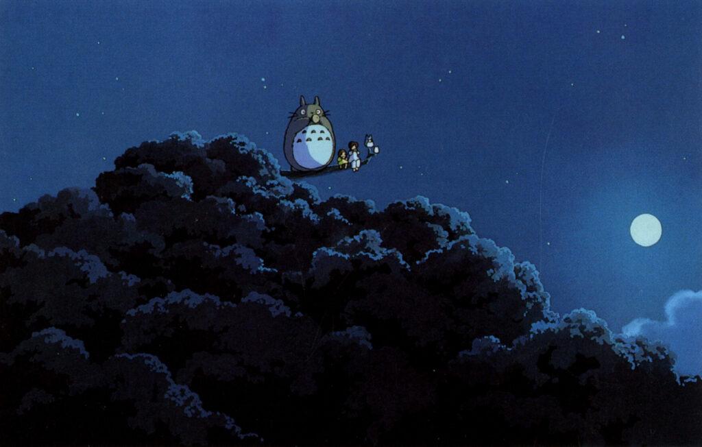 Psychothérapie - Image Totoro nuit